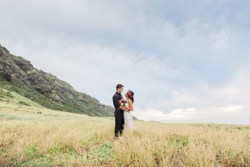 Colorful Hawaiian Boho Wedding Inspiration – Chelsea Stratso Photography 7