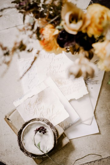 Dramatic Bridesmaid Inspiration With Fall Florals and A Black Jumpsuit – Georgina Harrison Photography 30