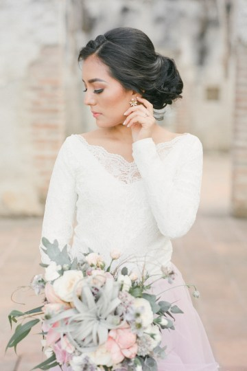 Dreamy Pink Guatamalan Bridal Inspiration – LeeYen Photography 25