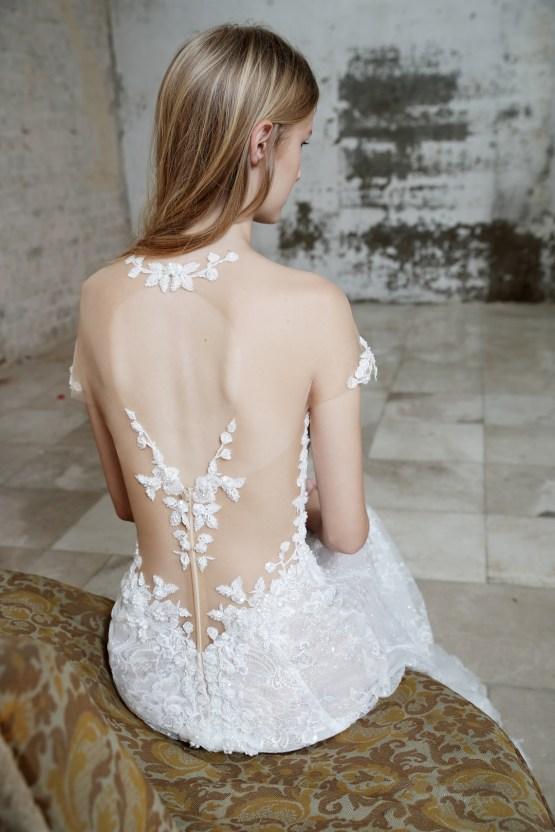 Galia Lahav Modern Fairytale-Inspired Wedding Dress Collection G-203 Closeup