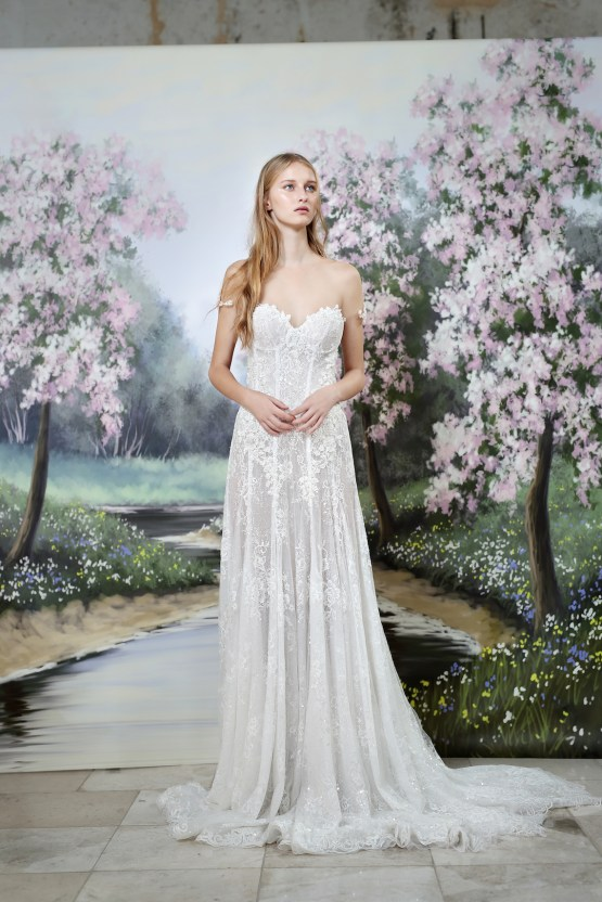 Galia Lahav Modern Fairytale-Inspired Wedding Dress Collection G-203 Front
