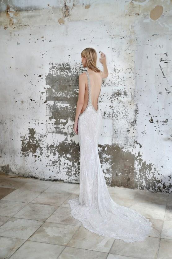Galia Lahav Modern Fairytale-Inspired Wedding Dress Collection G-208 Back