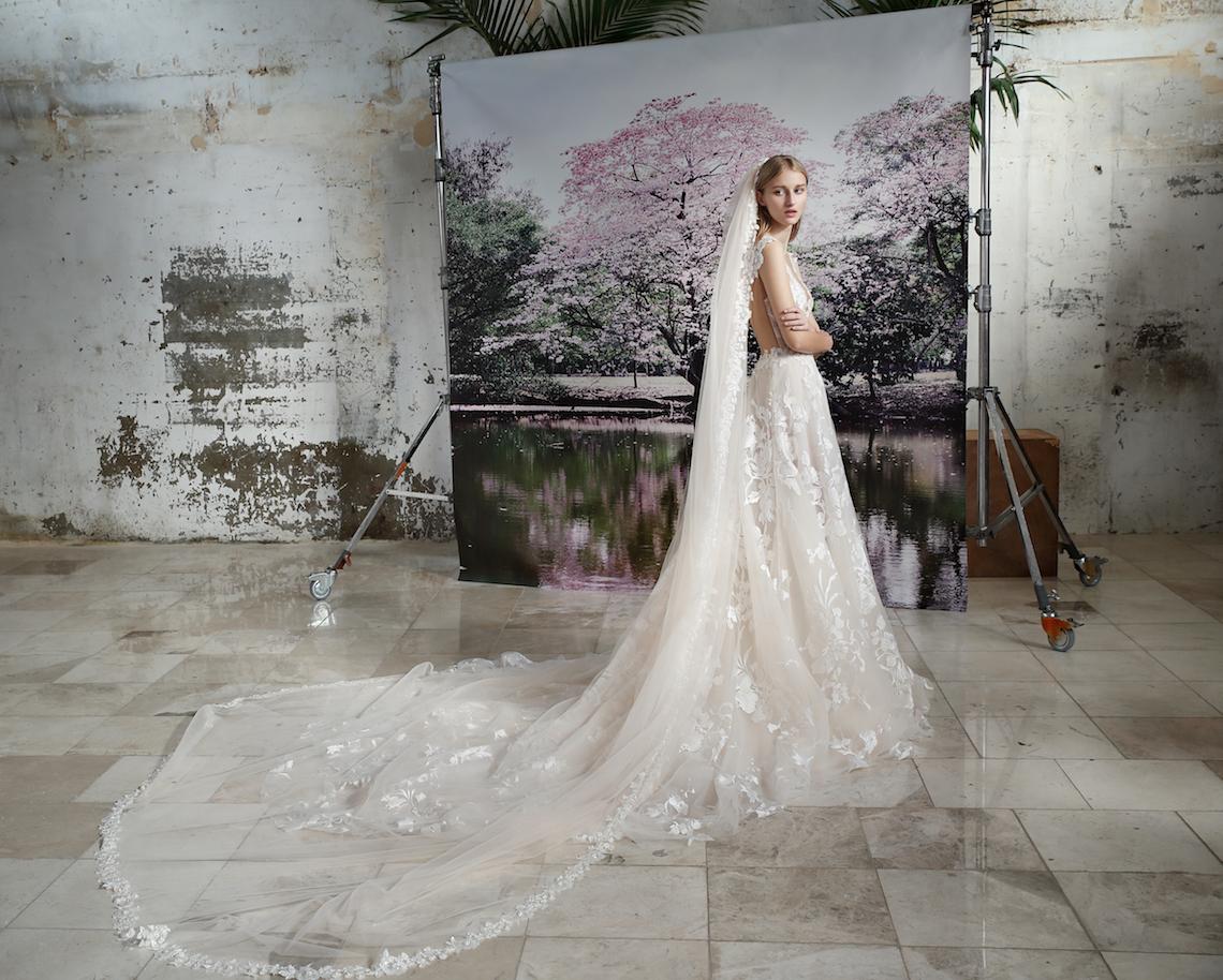Galia Lahav Modern Fairytale-Inspired Wedding Dress Collection G-210+ G-214