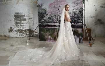 Galia Lahav Modern Fairytale-Inspired Wedding Dress Collection G-210+ G-214