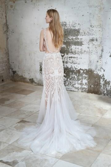 Galia Lahav Modern Fairytale-Inspired Wedding Dress Collection G-212 Back