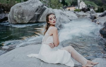 Bohemian Misty Blue Bridal Inspiration