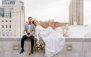Modern & Modest Metropolitan Bridal Inspiration