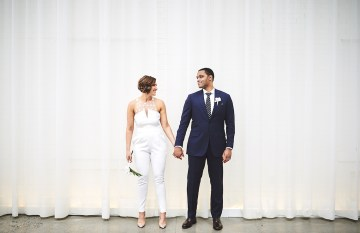 Modern Two Part Wedding With A Stylish Jumpsuit – Bri Johnson Photography 4