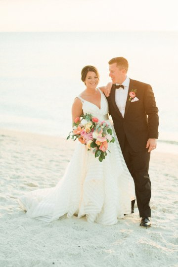 Preppy and Nautical Boathouse Wedding – Elleson Events – Trenholm Photo 48