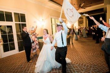 Preppy and Nautical Boathouse Wedding – Elleson Events – Trenholm Photo 9
