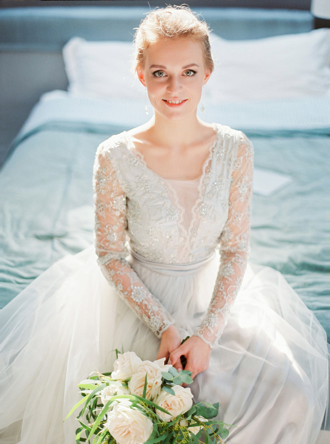 Romantic wedding dresses for the bride who wants subtle ...
