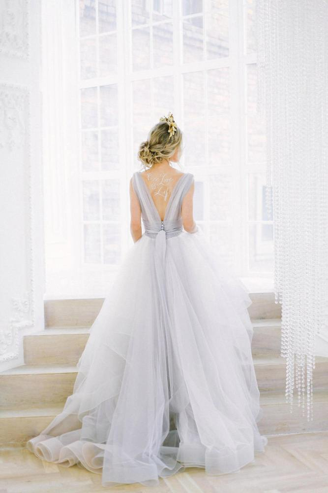 Romantic Wedding Dresses For The Bride Who Wants Subtle Color On Etsy