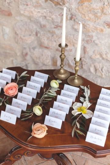 Rustic and Romatic Italian Wedding Inspiration From Tuscany – Tiziana Gallo 16