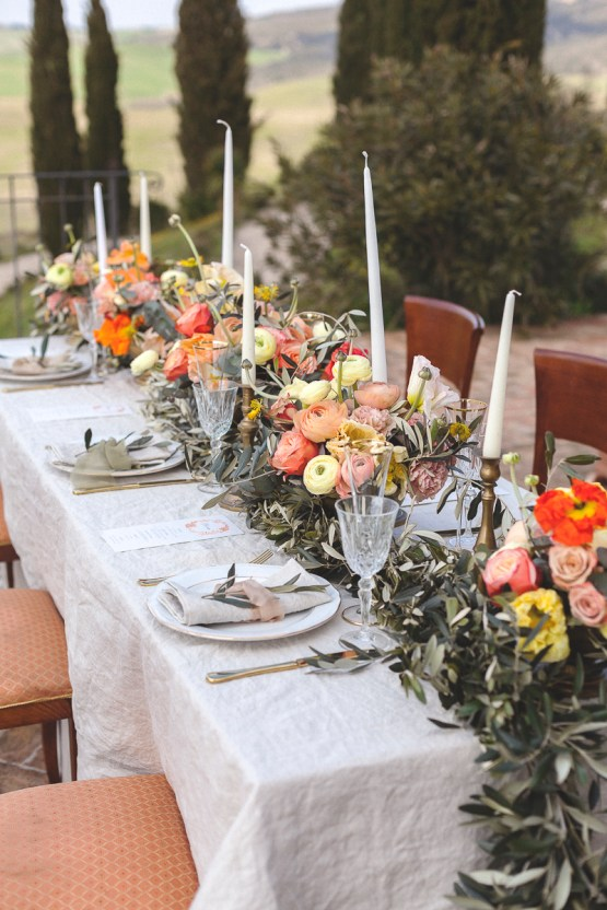 Rustic and Romatic Italian Wedding Inspiration From Tuscany – Tiziana Gallo 19