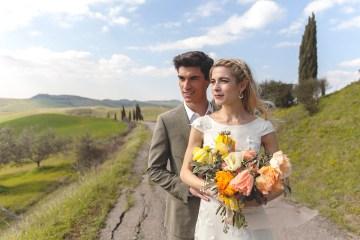Rustic and Romatic Italian Wedding Inspiration From Tuscany – Tiziana Gallo 5