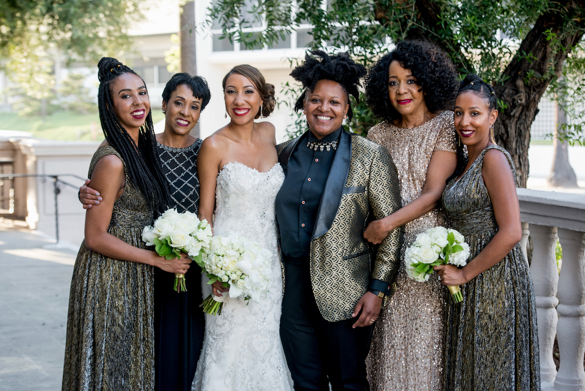 Sparkling and Ornate City Chic Wedding – Kim Fox Photography 28