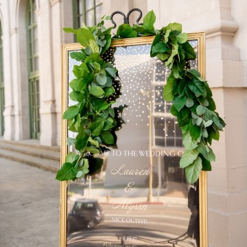 Sparkling and Ornate City Chic Wedding – Kim Fox Photography 8
