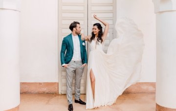 Stunning & Fashionable Moroccan Riad Elopement Inspiration