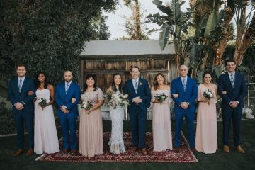 Stylish and Wildly Fun Palm Springs Wedding – The McFarlands 13