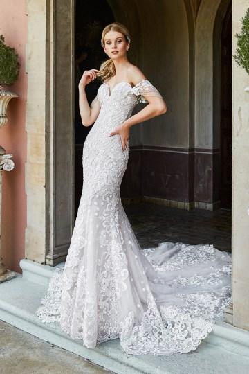 10 Stunning Wedding Dresses By Destination – Val Stefani Amalfi Dress 1