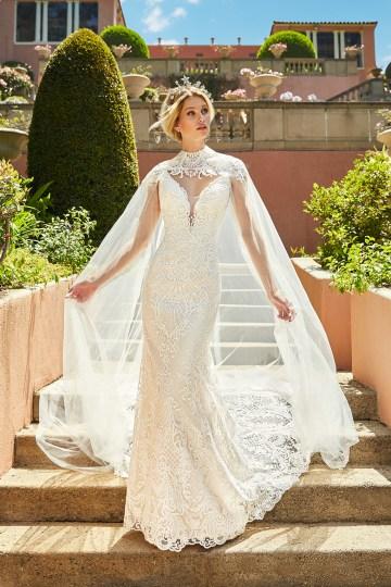 10 Stunning Wedding Dresses By Destination – Val Stefani Cadenza Dress 4