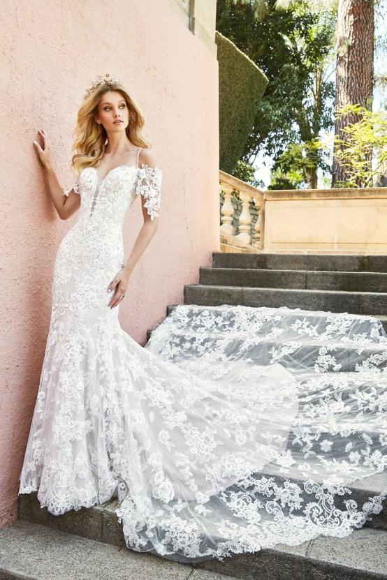 10 Stunning Wedding Dresses By Destination – Val Stefani Edita Dress 2