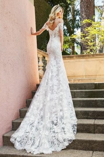 10 Stunning Wedding Dresses By Destination – Val Stefani Edita Dress 4