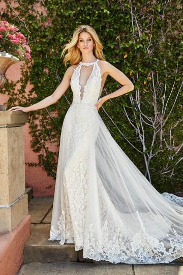 10 Stunning Wedding Dresses By Destination – Val Stefani Savona Dress 2