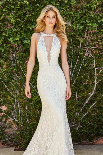 10 Stunning Wedding Dresses By Destination – Val Stefani Savona Dress 5