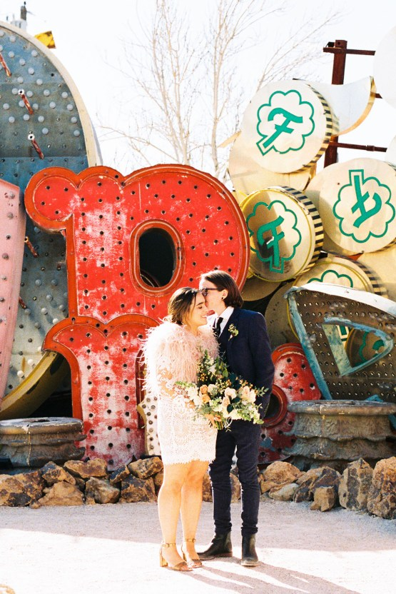 Hip and Colorful Las Vegas Neon Museum Wedding – Kristen Kay Photography 10