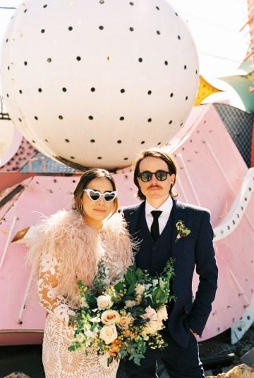 Hip and Colorful Las Vegas Neon Museum Wedding – Kristen Kay Photography 13