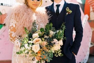 Hip and Colorful Las Vegas Neon Museum Wedding – Kristen Kay Photography 33