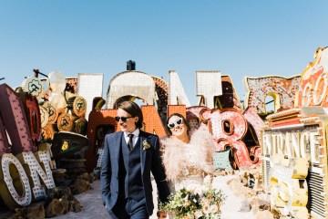 Hip and Colorful Las Vegas Neon Museum Wedding – Kristen Kay Photography 34