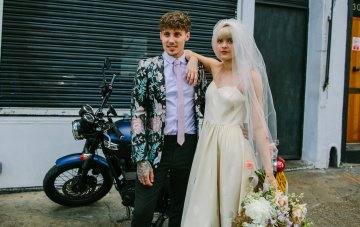 London Rock And Roll Elopement Inspiration