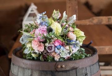 Rustic and Romantic Barn Wedding Inspiration – Boswick Photography 5
