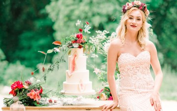 Whimsical & Colorful Woodland Wedding Inspiration