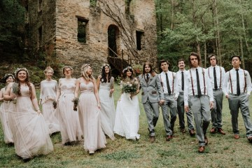 Woodland Waterfall Fairy-Tale Wedding – T and K Photography 11