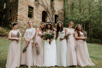 Woodland Waterfall Fairy-Tale Wedding – T and K Photography 12