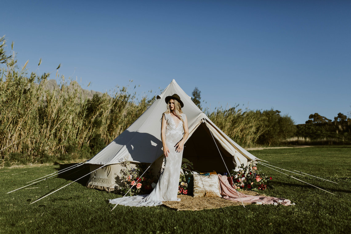 Bohemian Glamping Wedding and Proposal Inspiration – Lindie Wilton Photography 1