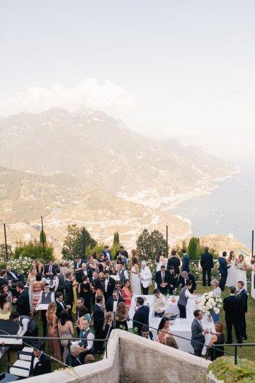 Breathtaking Cliffside Amalfi Coast Destination Wedding – Sandra Aberg 31