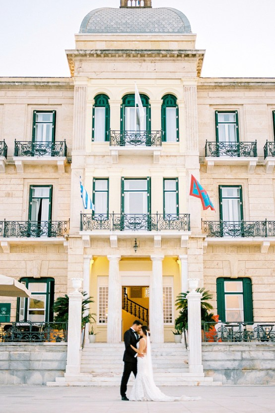 Lavish and Ethereal Greek Hotel Wedding Inspiration – Camilla Cosme Photography 32