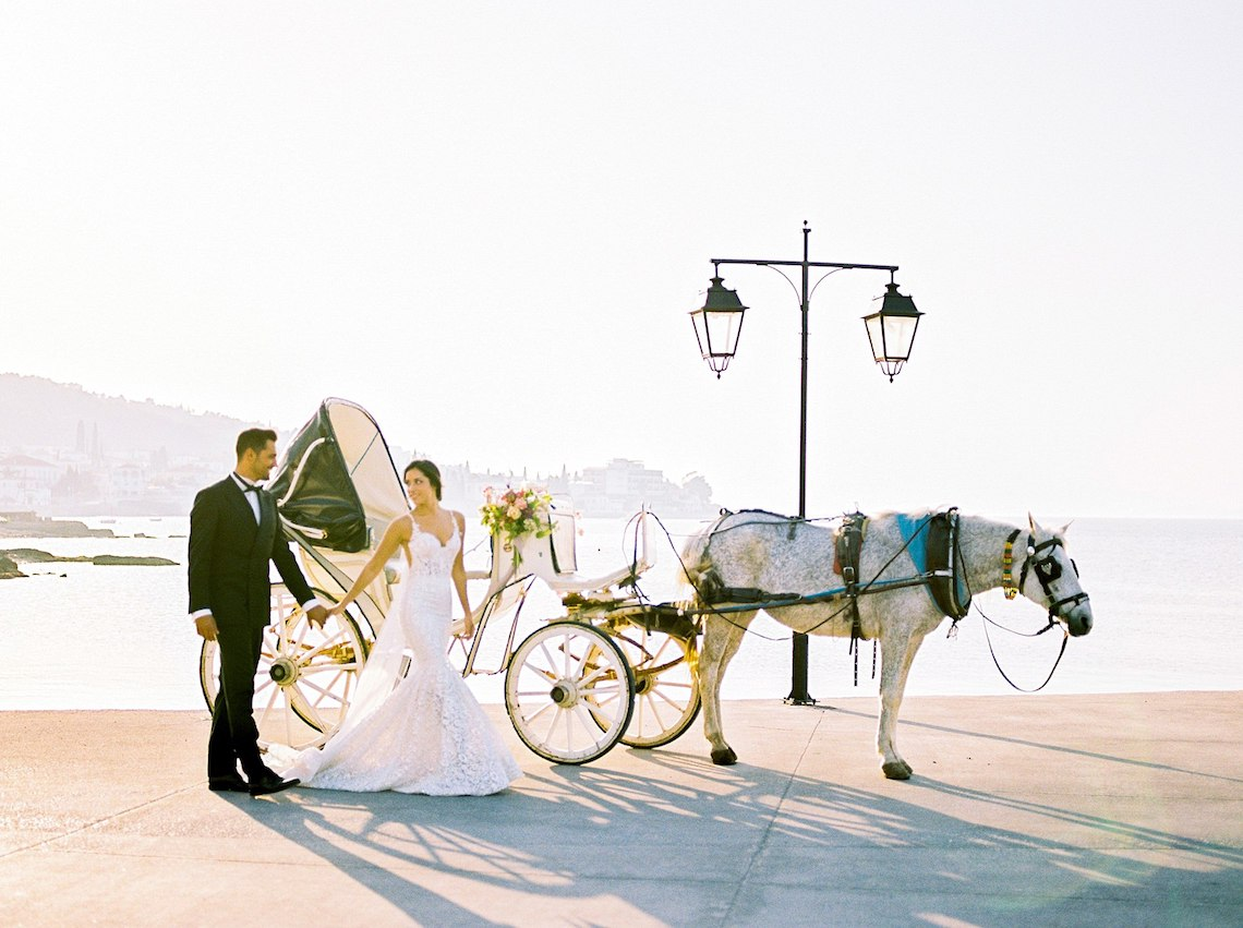 Lavish and Ethereal Greek Hotel Wedding Inspiration – Camilla Cosme Photography 34