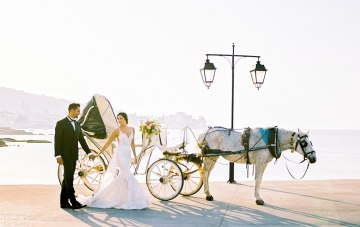 Lavish & Ethereal Greek Hotel Wedding Inspiration