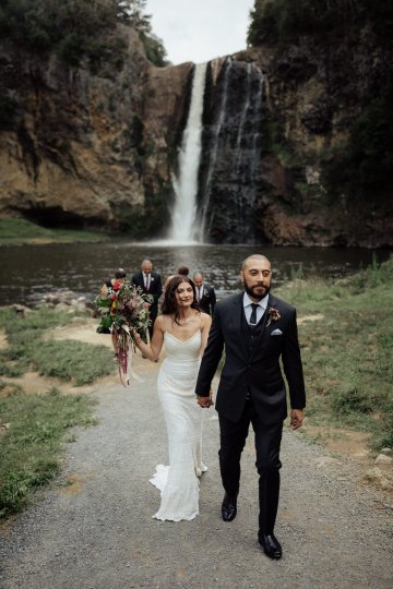 Multicultural Indian Sikh Kiwi Waterfall Wedding – Karen Willis Holmes – Hollow and Co 27