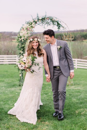 Quaint Country Chic Boho Wedding Inspiration – Sons and Daughters Photography 28