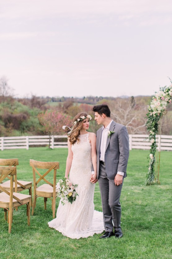 Quaint Country Chic Boho Wedding Inspiration – Sons and Daughters Photography 29