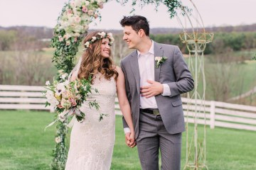 Quaint Country Chic Boho Wedding Inspiration – Sons and Daughters Photography 44