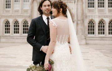 Swanky London Bank Wedding