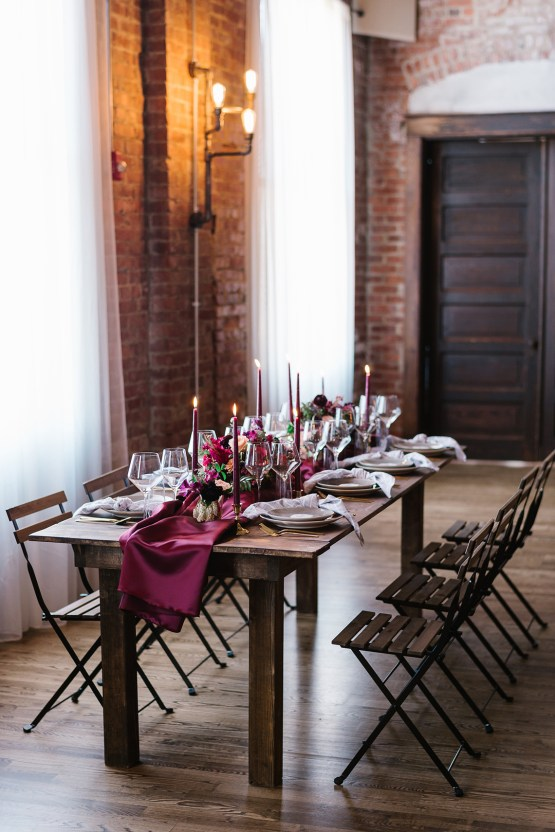 Whimsical Crimson and Green Holiday Wedding Inspiration – Stacy Able Photography 23