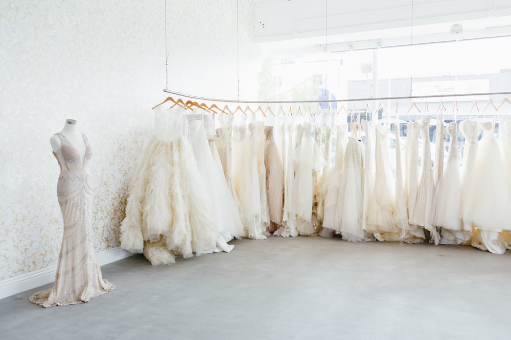 These Are The 10 Best Bridal Salons In Los Angeles For Every Type